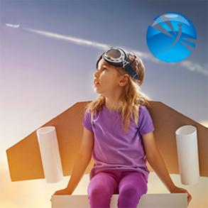 Разработка нейминга и логотипа для компании по аэросъемке