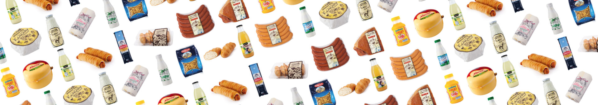 Предметная фотосъемка пищевых продуктов для каталога интернет магазина «Милкбокс»