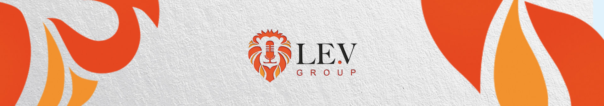 Разработан логотип для продюсерской компании LE.V GROUP
