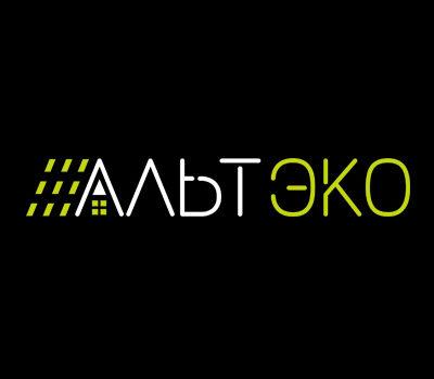 Рестайлинг логотипа для компании Альтэко — комплексного поставщика решений для альтернативной энергетики.